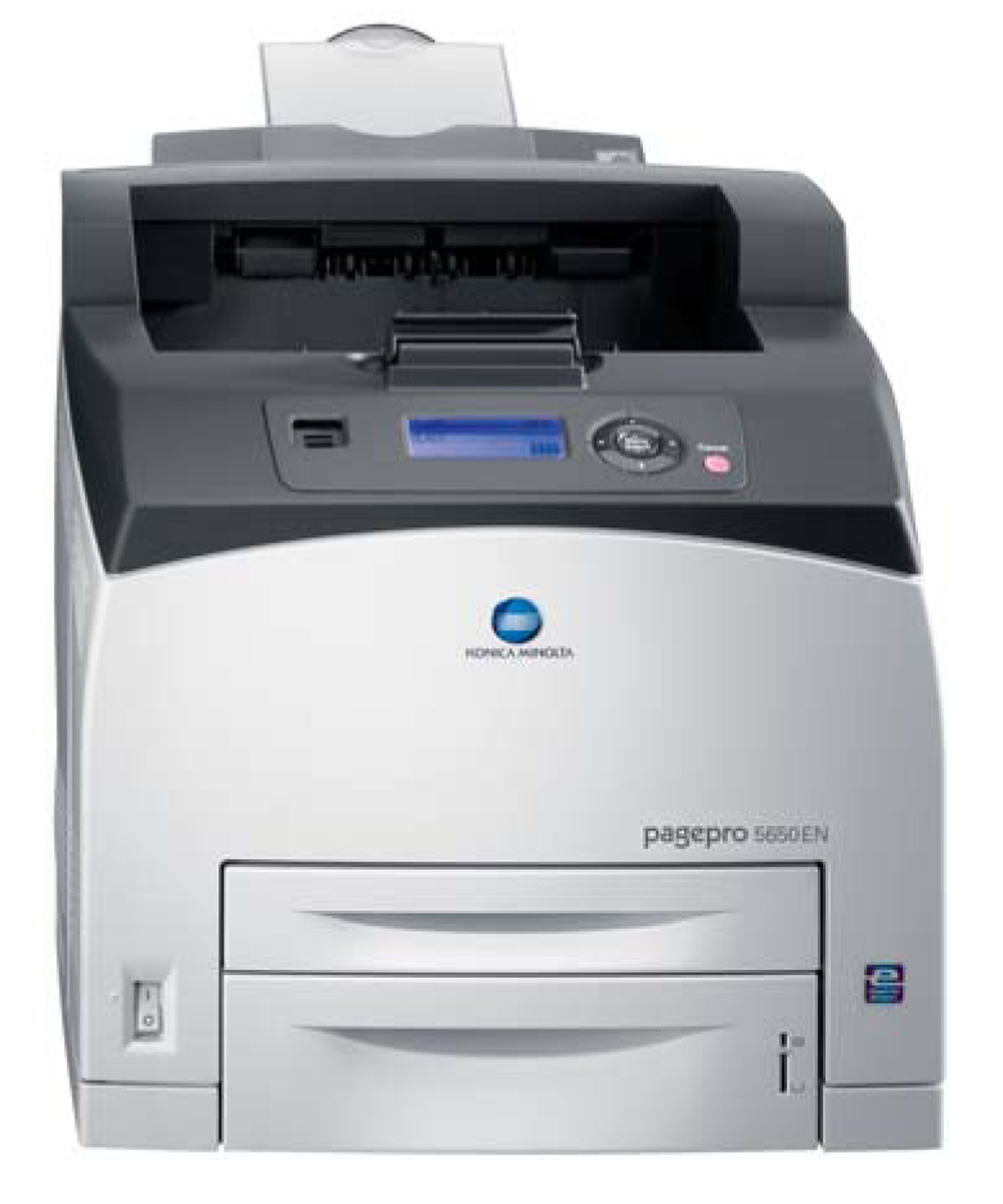Speed up your black and white printing with a pagepro 5650EN from Konica  Minolta.